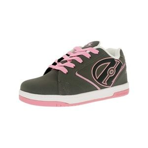 HEELYS Pink & Gray Sneakers with Wheels